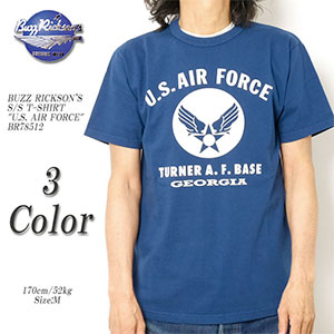 BUZZ RICKSON'S S/S TEE U.S.AIR FORCE
