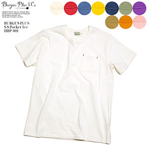 BURGUS PLUS S/S Pocket Tee