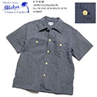 SUN SURF ALOHA by King Smith 9oz. MANSUJI WORK BLOUSE