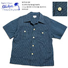 SUN SURF ALOHA by King Smith 7.5oz. SENSUJI WORK BLOUSE