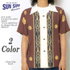 SUN SURF S/S RAYON OPEN SHIRT