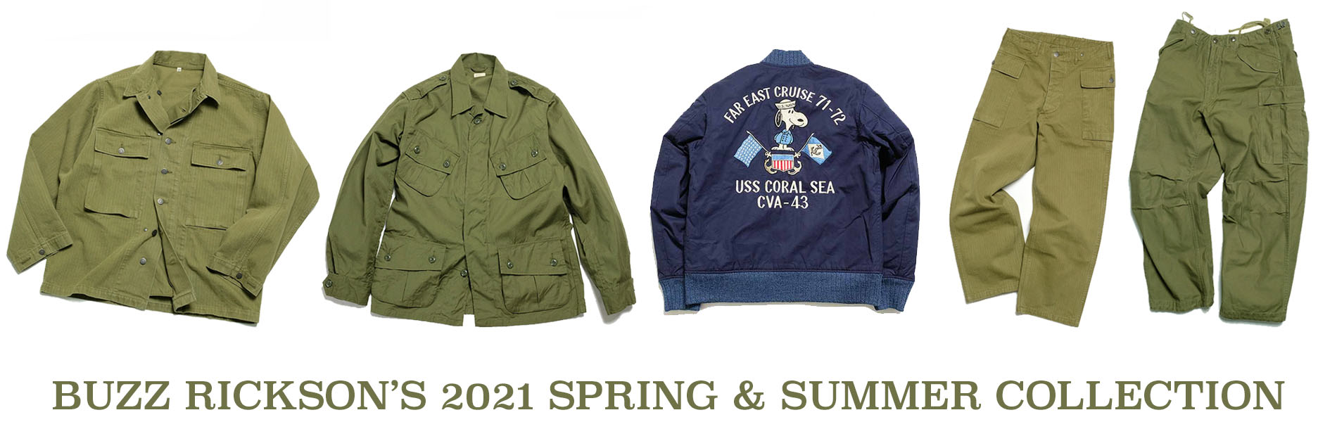 BUZZ RICKSON'S 2021 SPRING & SUMMER COLLECTION
